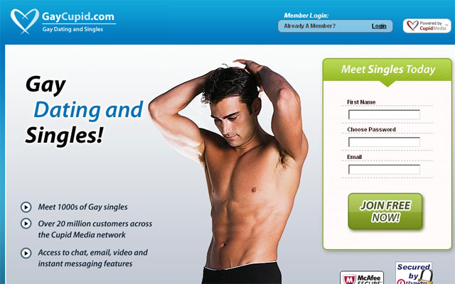 online dating was the primary option for gay men to meet other gay m