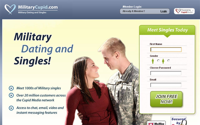 dating site for military Militarysinglescom is the largest online military dating community for us military singles and the men and women who want to date them.