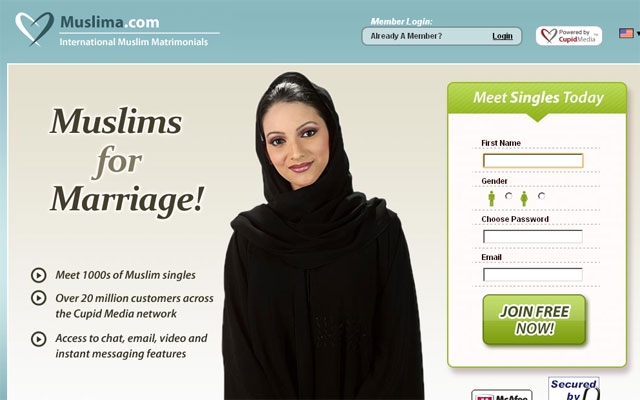 Muslim singles dating sites