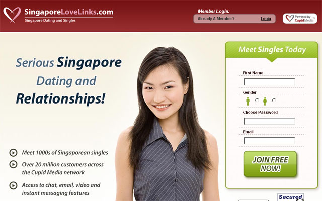 Ranking of the Best Dating Sites in Singapore