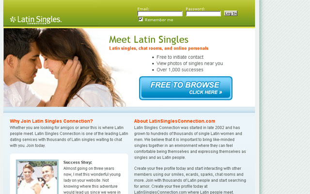 Dating website for latino